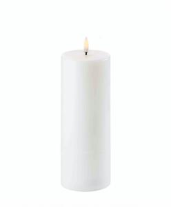 Bilde av Uyuni 7,8* 20cm hvitt  LED kubbelys